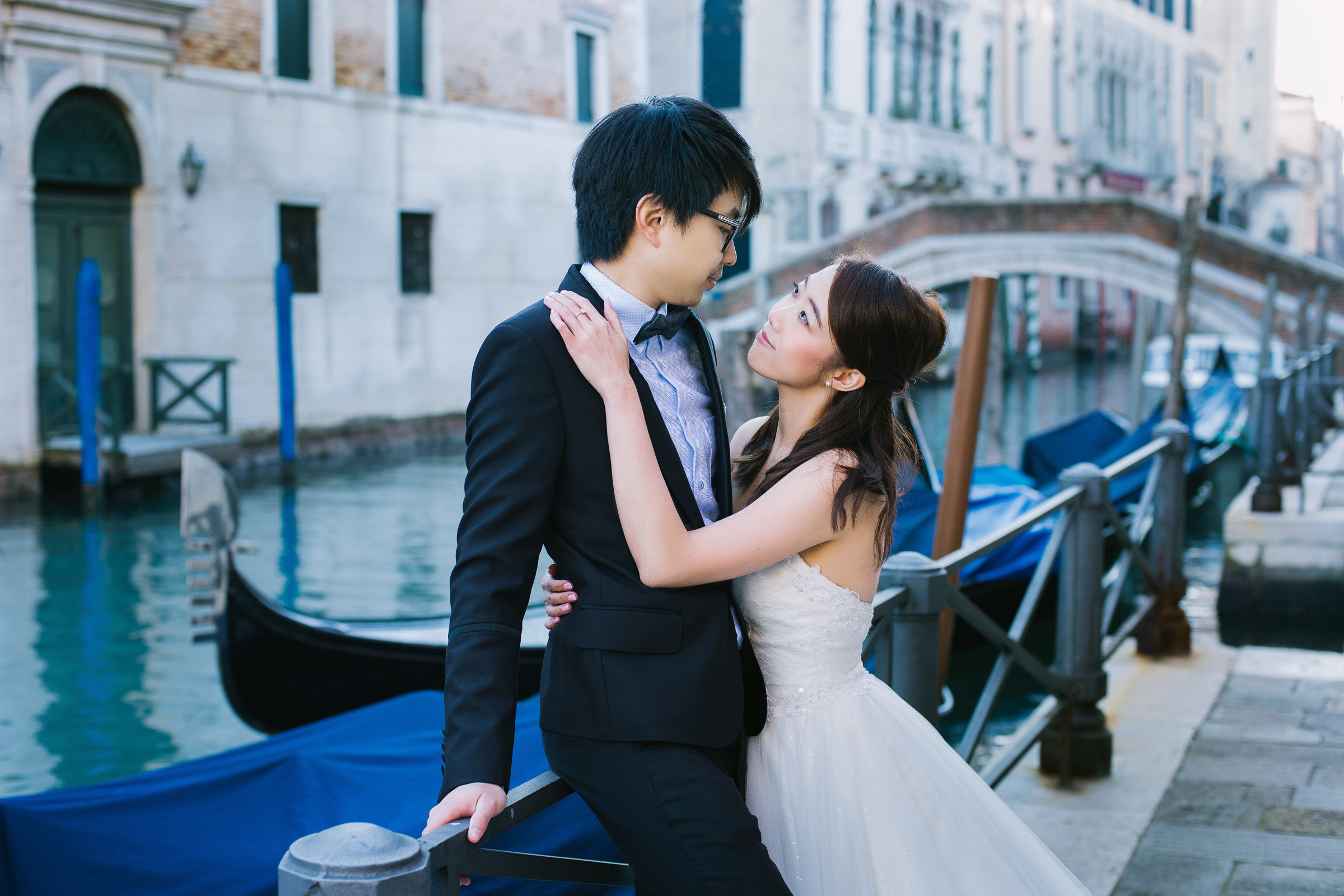 Prewedding photoshoot in Venice for Brian&Jane
