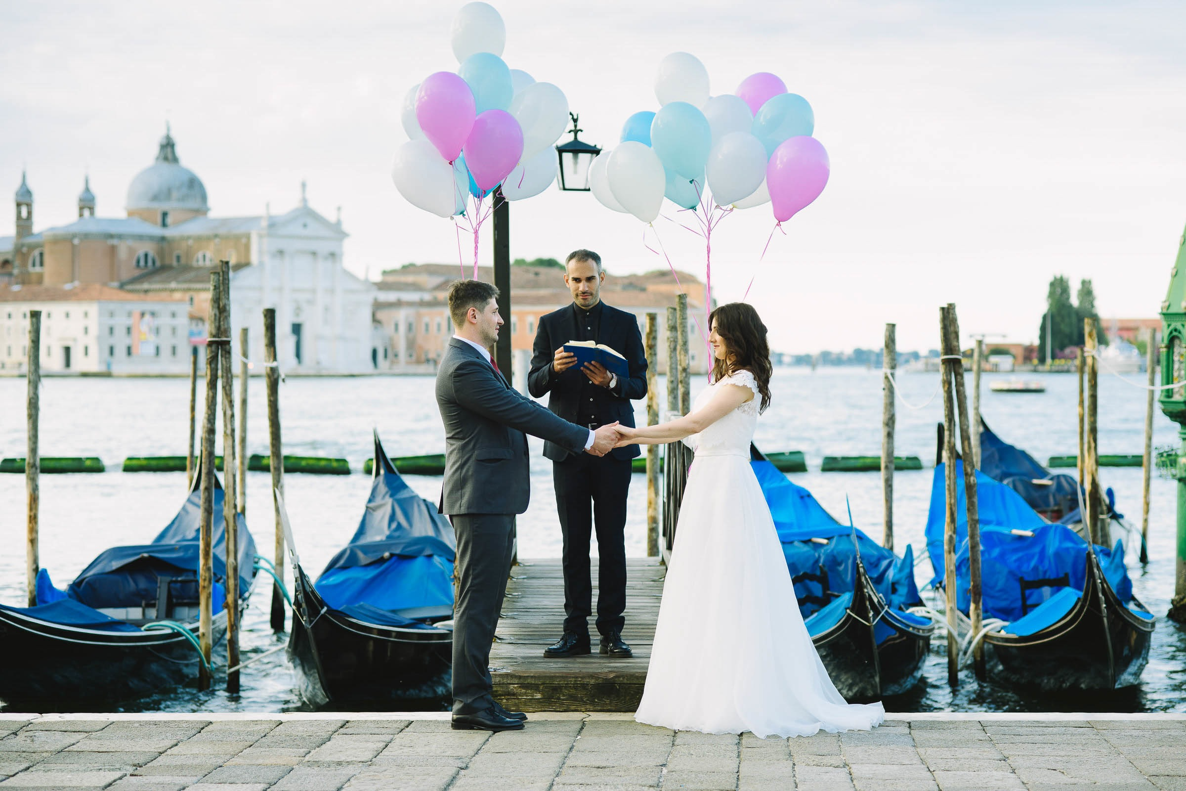 Wedding ceremony at San Marco