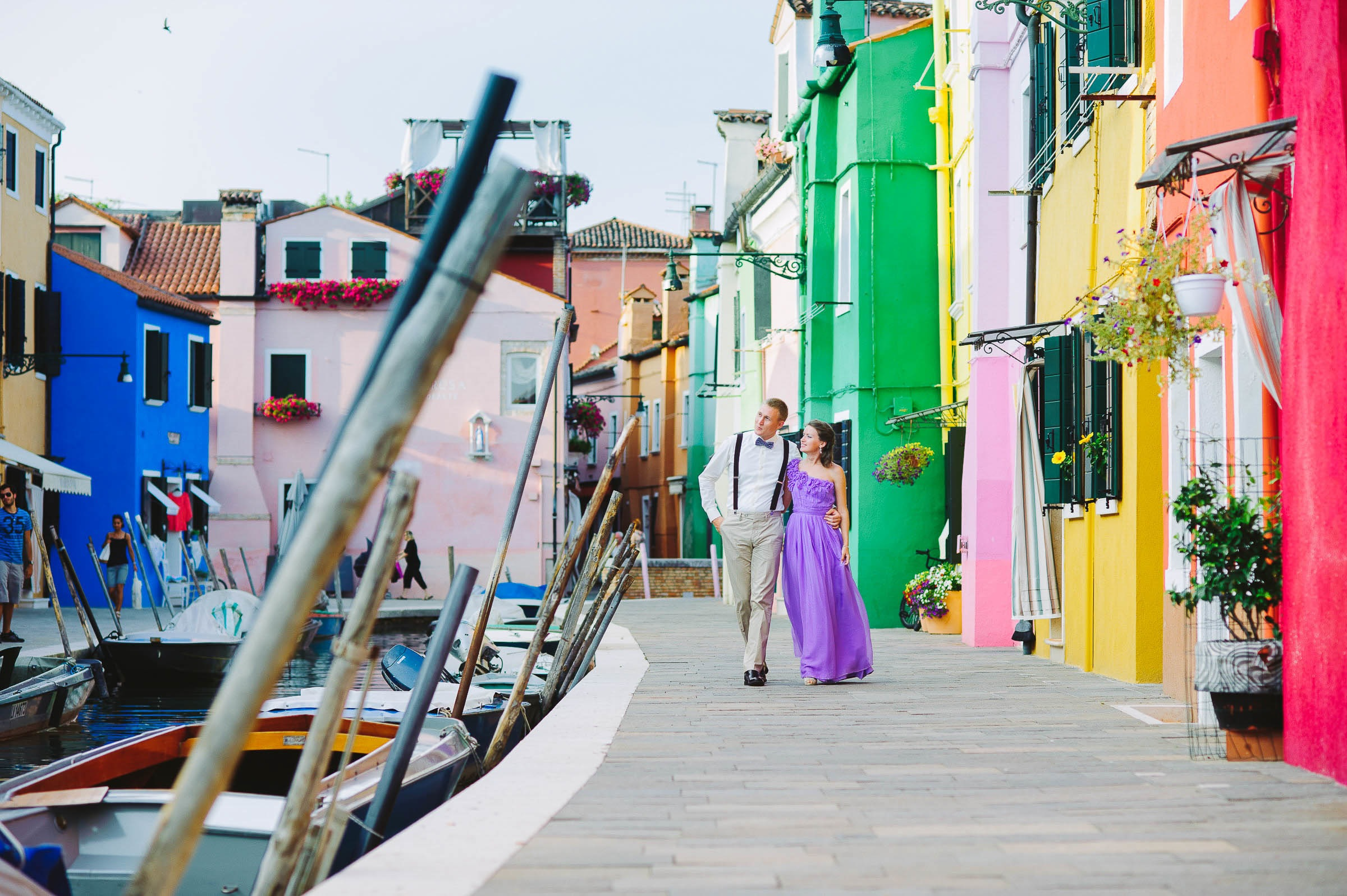 love story in burano