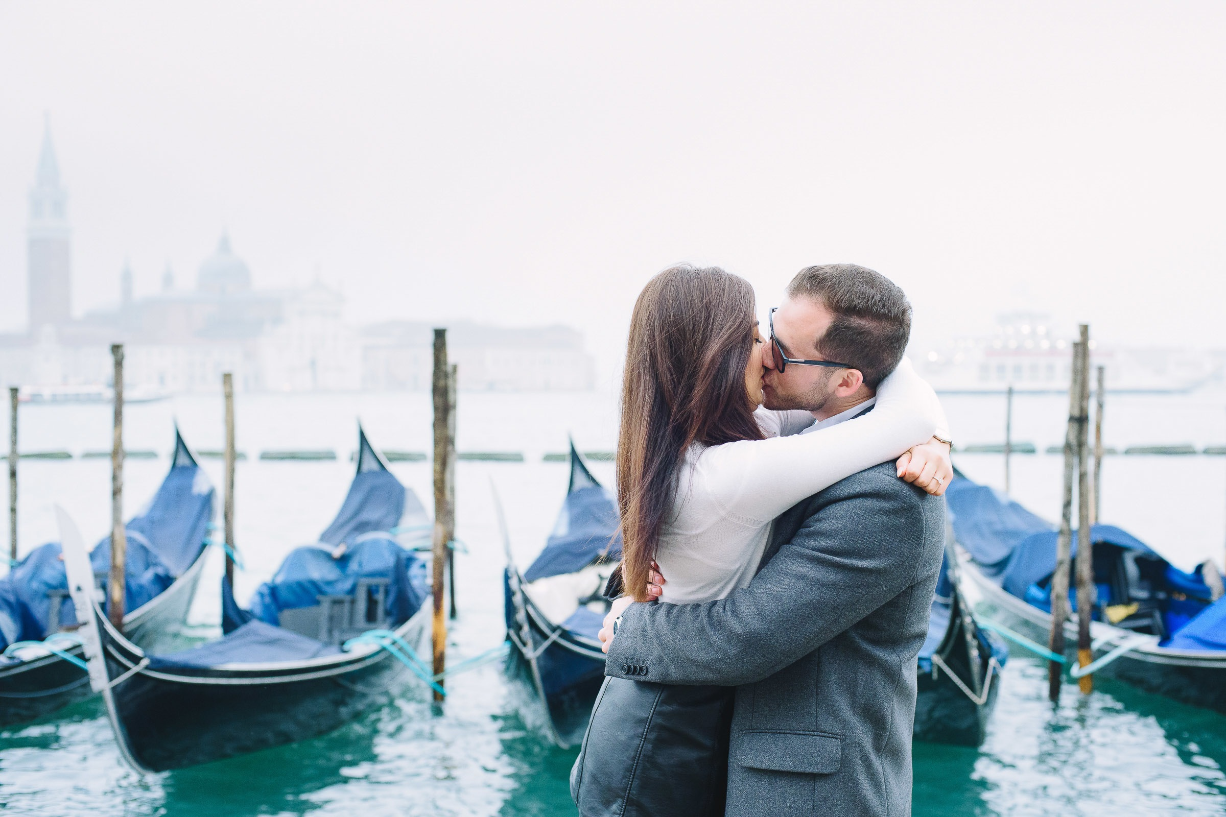 engagement in Venice